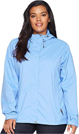 White Sierra - Plus Size Trabagon Rain Shell