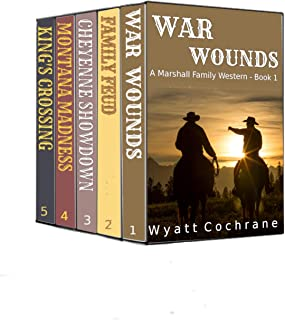 The Marshall Family - First Generation Box Set: A Marshall Family Western Books 1 - 5