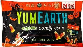 Yumearth YumEarth Hallween Limited Edition Organic Gummy Candy Snack Pack (Candy Corn 12oz)