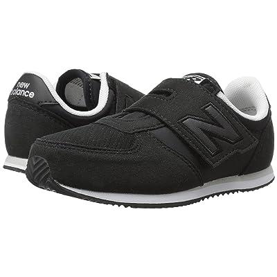 New Balance Kids KV220v1I (Infant/Toddler) (Black/Black) Boys Shoes