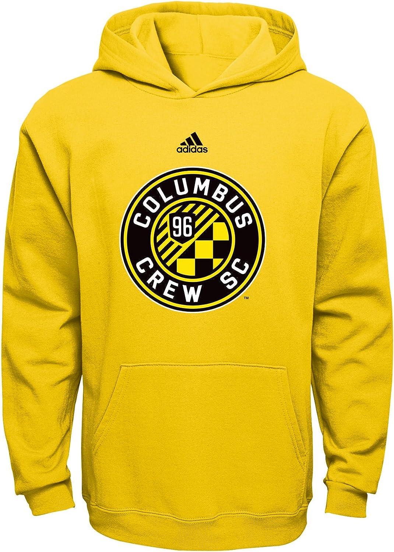 Team Color MLS  Boys Outerstuff 8-20 Primary Logo Fleece Hoodie