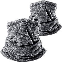 WTACTFUL 2 Pack یا 1 Pack - ماسک صورت گرمتر از پوست گردن پشمی نرم برای ورزش های سرد زمستانی در هوای سرد
