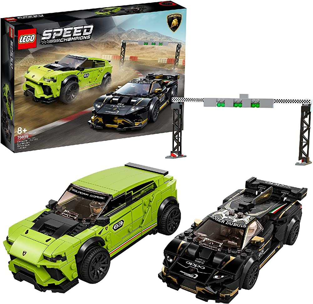 Lego speed champions lamborghini urus st-set di costruzioni con auto da corsa 76899