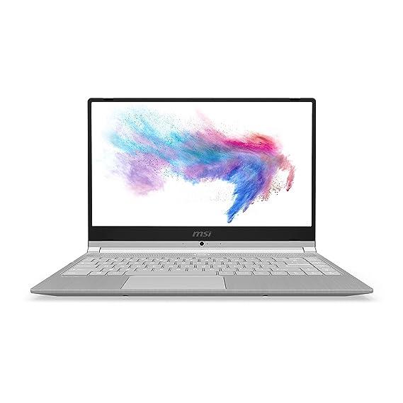 MSI Modern 14 A10M-652IN Intel Core i5-10210U 10th Gen 14-inch Laptop(8GB/512GB NVMe SSD/Windows 10 Home/UMA/Grey/1.29Kg )9S7-14B361-652 (Silver)