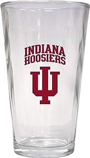 Indiana Hoosiers 16 oz Pint Glass