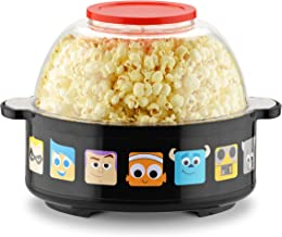 Disney DPX-16 Pixar Collection Stir Popcorn Popper, One Size, Black