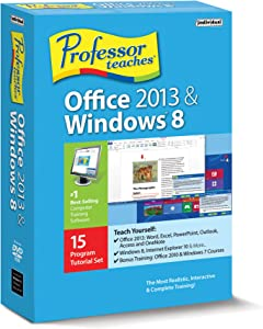 Professor Teaches Office 2013 and Win 8