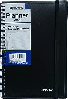 PlanAhead Medium Planning Notebook, 6.5 x 9.25