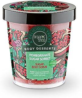 Organic Shop Exfoliante Corporal de Azúcar Sorbete de Azúcar de Granada - 450 ml