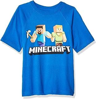 تي شيرت للأولاد Minecraft Boys Boys Boys Minecraft Steve and Alex on the Go