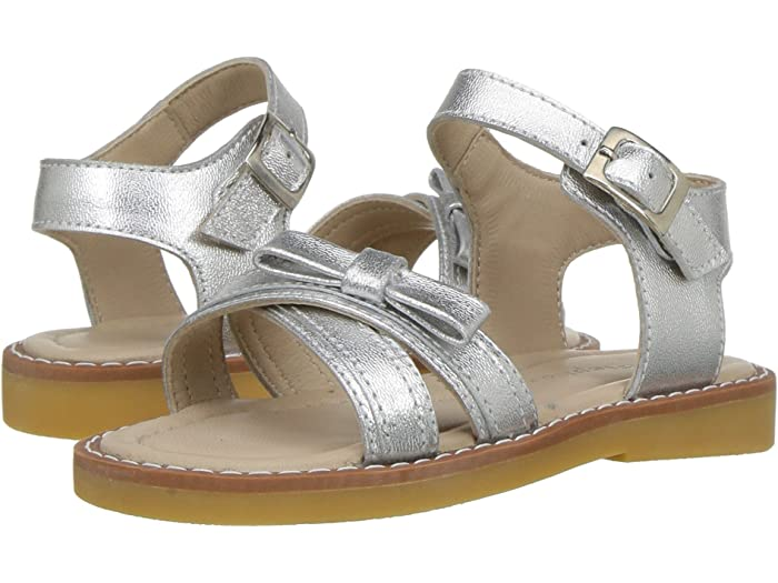 Elephantito Lili Crossed Sandal White