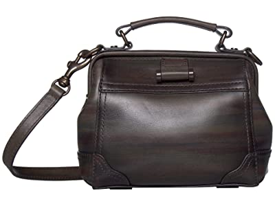 Frye Charlie Frame Satchel Crossbody (Dark Multi) Cross Body Handbags