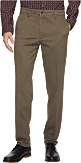 Men's Easy Khaki Slim Tapered Fit Pants Dark Pebble Pants