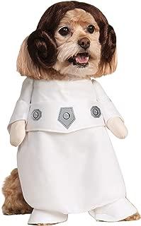 Rubies Costume Star Wars Collection Pet Costume, Princess Leia