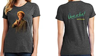 Dr. Steve Brule 2-Sided Womens T-Shirt Check it Out! Logo 1037