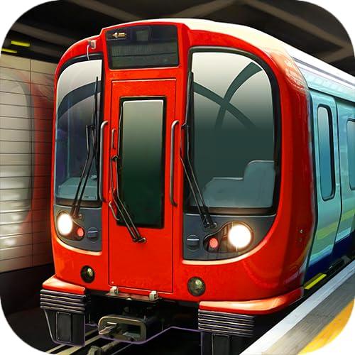 Subway Simulator London - England Underground Train: spiele Zug Simulator, wo du schnelle U Bahn und Metro rennen und fahren kannst, starte Motor der Lokomotive, der groß wie Auto im Verkehr ist