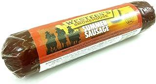 Original Summer Sausage - 3 Pack - Old Fashioned Beef Sausage - 24 oz