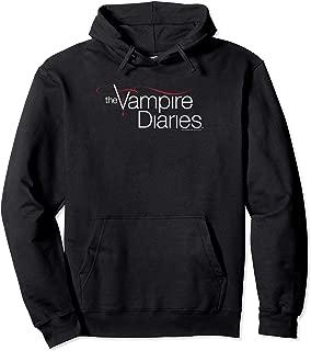 Vampire Diaries Logo Pullover Hoodie Pullover Hoodie