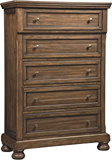 Signature Design by Ashley Flynnter Chest of Drawers, Medium Brown