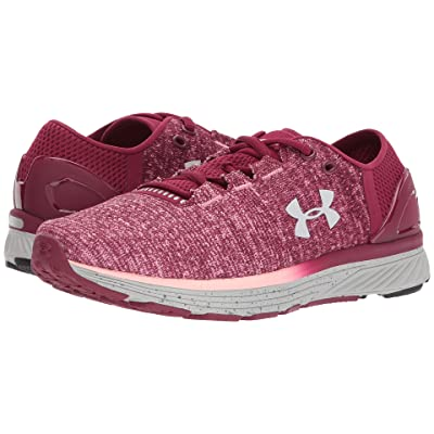 Under Armour Charged Bandit 3 (Black Currant/Pink Sands/Glacier Gray) Women