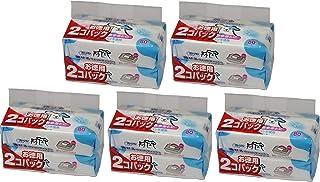クリーンワン 流せるウェットティッシュ ペット用 ノンアルコール せっけんの香り (80枚×2P)×5個 (まとめ買い)