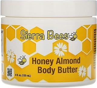 Sierra Bees Honey Almond Body Butter, 4 fl oz (120 ml)