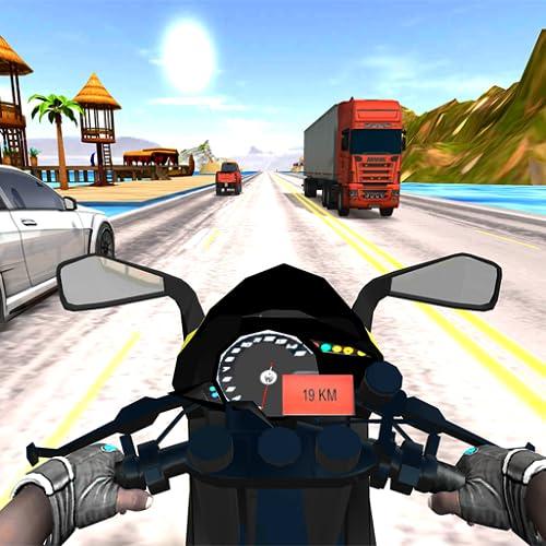 Moto Race the Traffic 3D