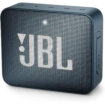 JBL GO2 Waterproof Ultra Portable Bluetooth Speaker - Navy (JBLGO2NAVYAM)