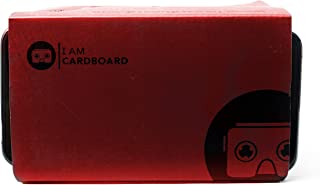 I AM CARDBOARD VR Box | The Best Google Cardboard Virtual Reality Viewer for iPhone and Android | Google Cardboard v2 Head...