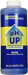 General Hydroponics pH Up Liquid Fertilizer, 1-Quart