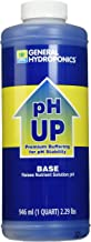 General Hydroponics pH Up Liquid Fertilizer, 1-Quart