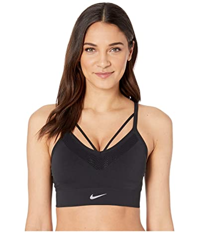 Nike Seamless Light Bra (Black/White) Women
