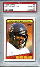 Best 1986 topps walter payton Reviews