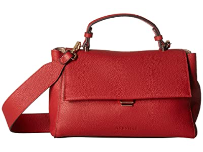 NEUVILLE Rio Satchel (Red Grain) Handbags