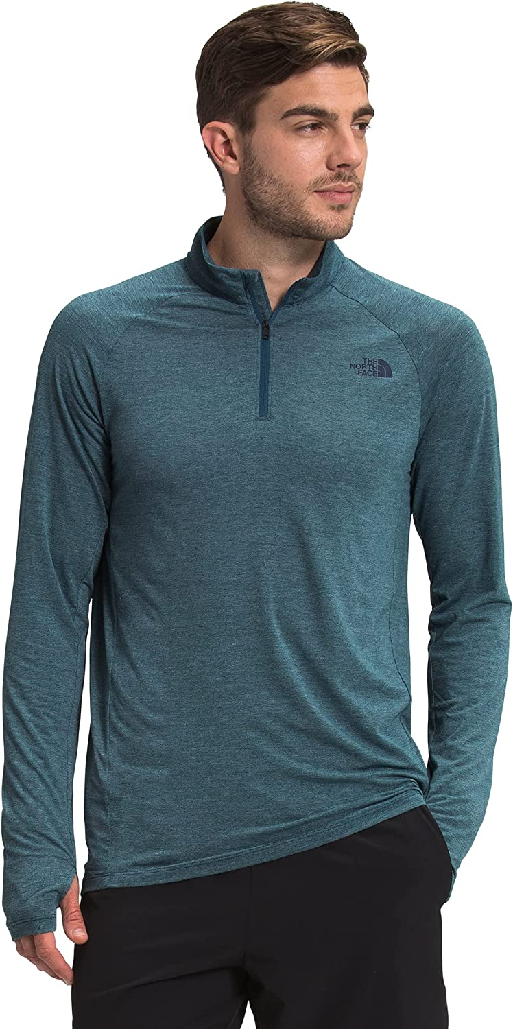 The North Face Men's Wander Quarter Zip Performance Pullover