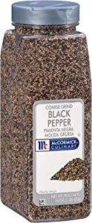 McCormick Culinary Coarse Ground Black Pepper, 1 lb