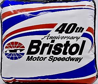 NASCAR - Bristol Motor Speedway - 40th Anniversary - Stadium Seat Cushion - 12x12 Inches - Collectible - Rare