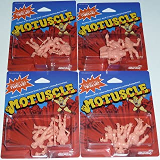 SDCC 2015 MUSCLE MOTUSCLE Set of 12 Figures M.O.T.U.S.C.L.E. He-Man Masters of the Universe
