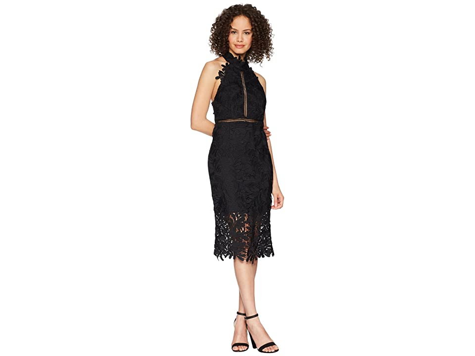 Bardot Kara Halter Dress (Black) Women