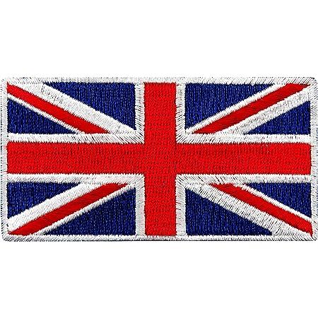 UNION JACK GB UK FLAG PATCH BADGE SEW OR IRON ON 3 SIZES QUALITY MADE