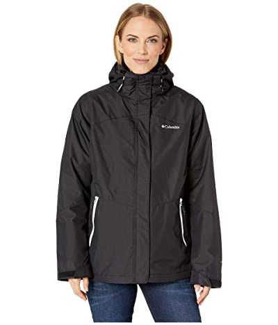 Columbia Bugaboo II Fleece Interchange Jacket (Black/White) Women
