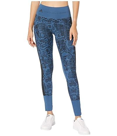 adidas by Stella McCartney Fits+ Tights FK8943 (Visual Blue) Women