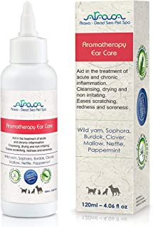 Arava Dead Sea Pet Spa - Ear Infections Treatment - Aromatherapy Ear Care - Aids In The Treatment of Acute and Chronic Inf...