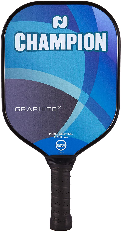 Pickleball Inc. Champion Graphite XL E Paddles X Fresno Mall Super sale period limited