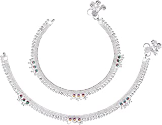 AanyaCentric Indian Fashion Fancy Jewelry Collection Designer Neck & Leg Chain