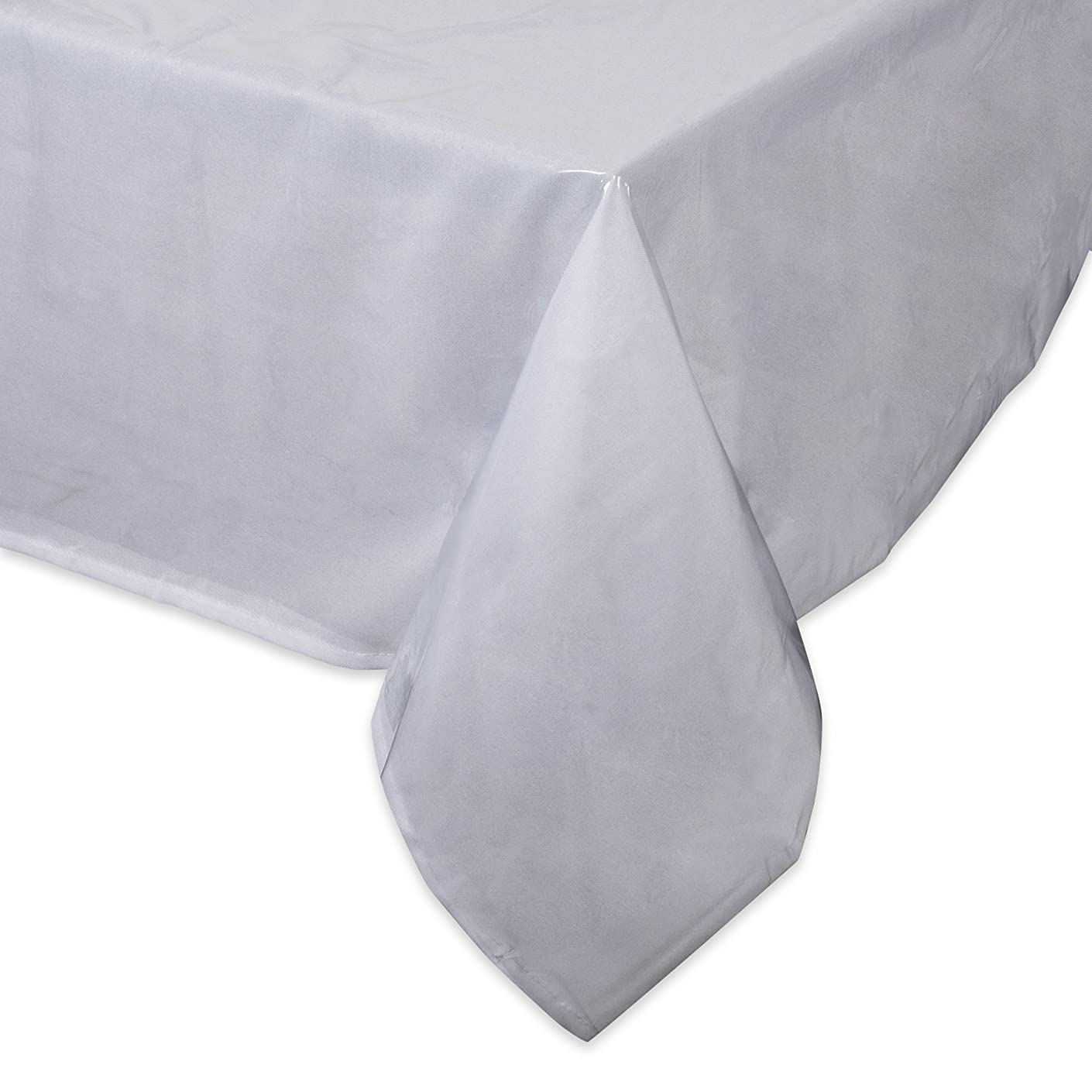 J & M Home Fashions Clear Table Protector 52x70