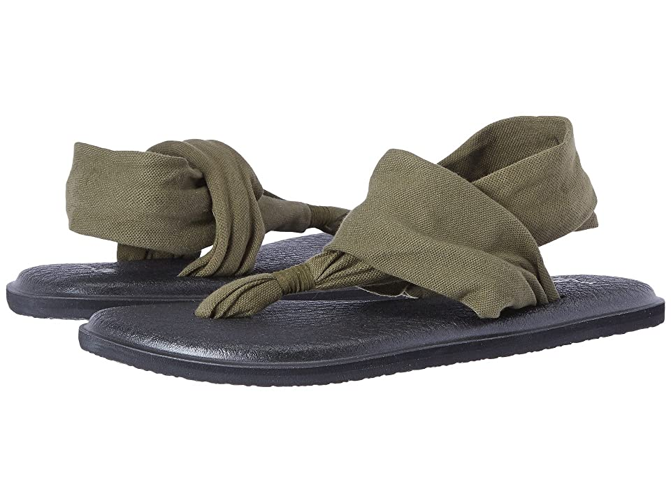 Sanuk Yoga Sling 2 (Dark Olive) Women
