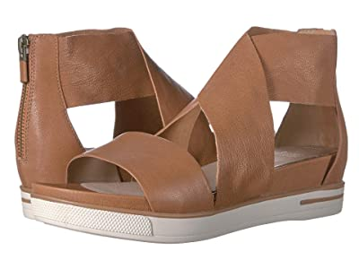 Eileen Fisher Sport (Camel Tumbled Leather) Women