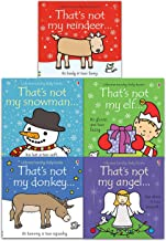 Thats Not My Christmas Series 5 Books Collection Set (Thats Not My Angel, Thats Not My Snowman, Thats Not My Reindeer, Thats Not My Donkey, Thats Not My Elf)