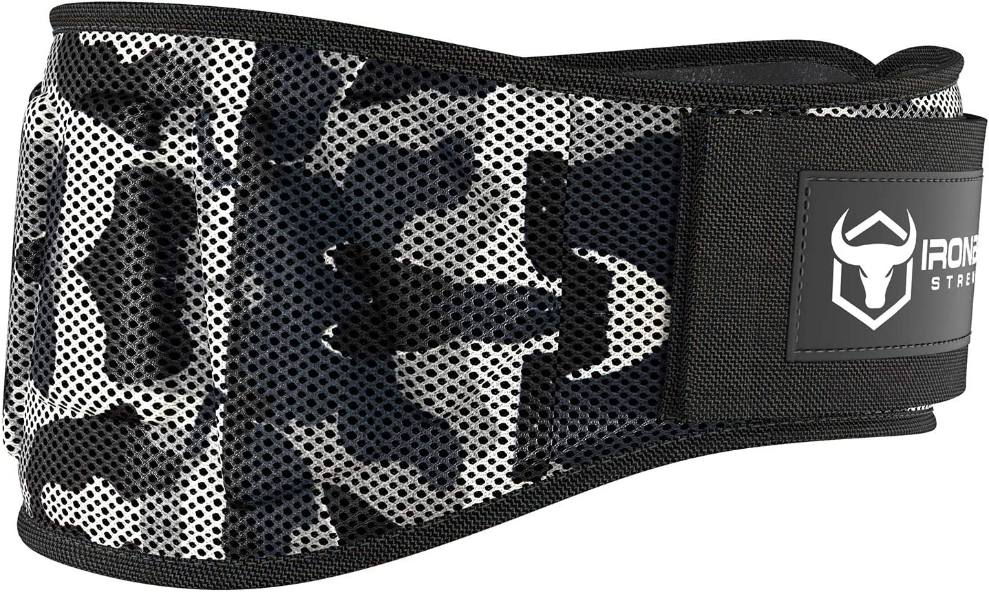 Iron Bull Strength Weightlifting Belt for Men and Women - 6 Inch Auto-Lock Weight Lifting Back Support, Workout Back Support for Lifting, Fitness, Cross Training and Powerlifitng : Sports & Outdoors
